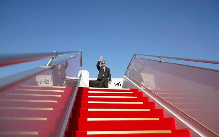 Photo of Iraq's PM  takes off for European tour