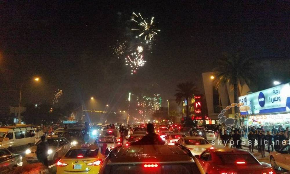 Photo of KRG banned New Year celebrations
