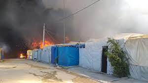 Photo of A great fire destroys Duhok IDP camp: governor