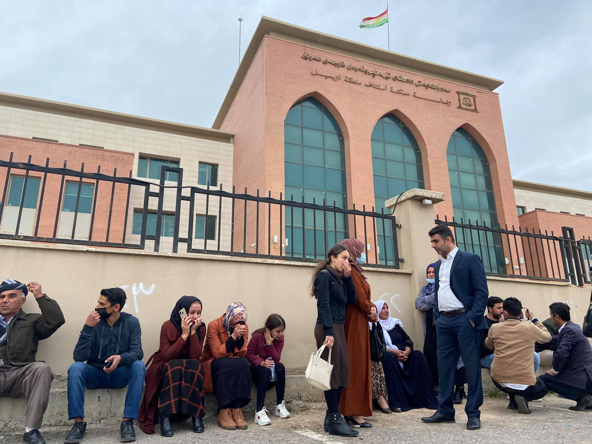 Photo of Erbil court postpones trial of five journalists and activists on security charges