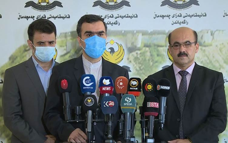 Photo of Iranian consul general 'strongly denies' accusations of being behind Erbil attacks