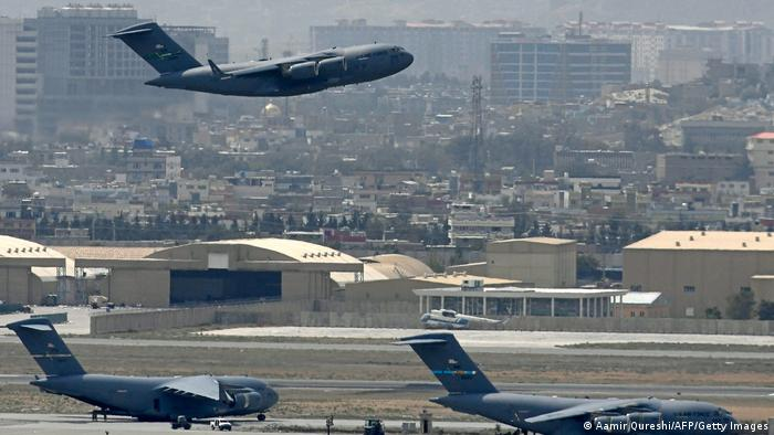Photo of Taliban arrived at Kabul airport